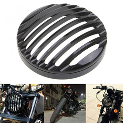 "5.75""Prison Headlight Bottom Mount Black - Type 2"