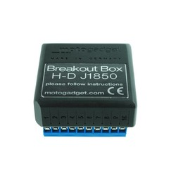 MSP Breakout Box J1850 for Harley Davidons