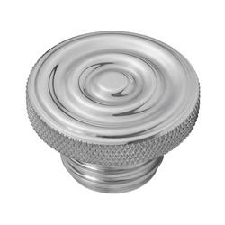 Custom Fuel Gas Cap - Billet Aluminum - Rippled