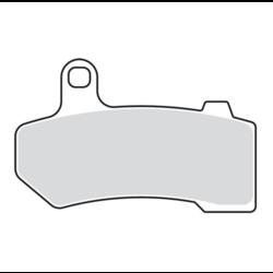 V-Pad Bremsbeläge Set vorne oder hinten 08-20 Touring; 09-13 & 19-20 Trikes; 06-17 (JETZT) V-Rod
