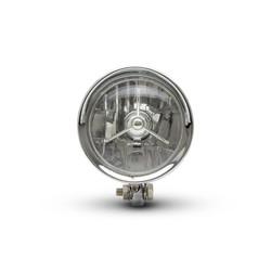 5 inch Bobber-koplamp Ondermontage
