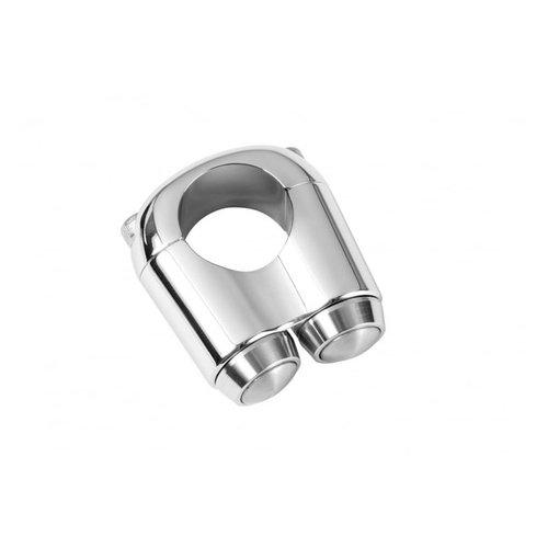 Motone 2-Tastenschalter Chrome