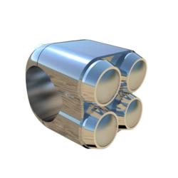 4-Tasten-Schalter (Farbe / Durchmesser auswählen)