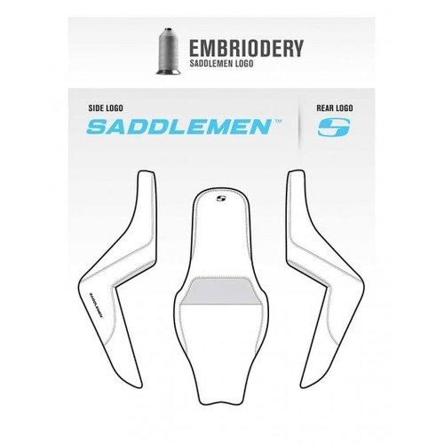 Saddlemen Lederen SADDLEHYDE ™ DUO zadel bruin vóór Sportster XL 04-20
