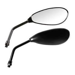 Teardrop Spiegels Satz Schwarz M10 - Lampa