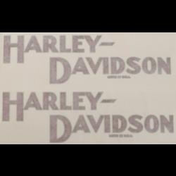 Abziehbilder / Aufkleber / Transfers für Harley (Modell auswählen)