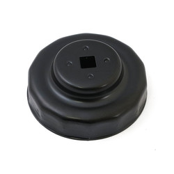 Oil Filter Cap, 3/8 Inch Black