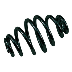 Tapered Solo Seat Spring, 4 Inch Black