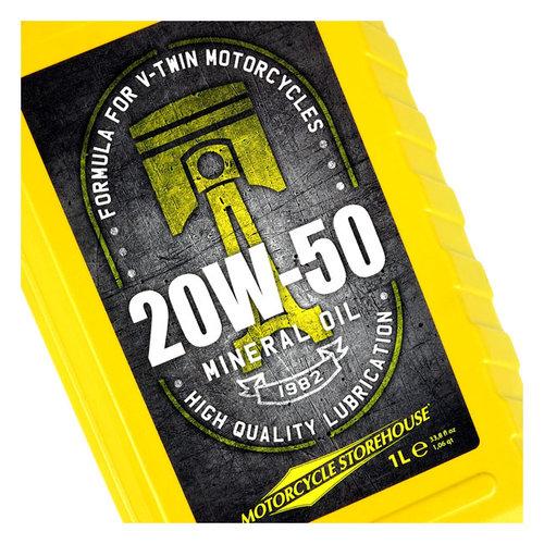 MCS 20W50 (Mineral) Motoröl