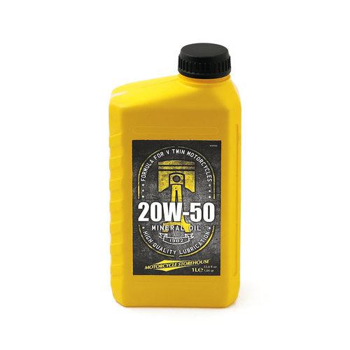 MCS 20W50 (Mineraal) Motor Olie