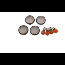 Smoke Turn Signal Lens Kit for Harley Davidson