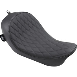 Low Solo Seat Diamond Black FXD Dyna 06-17