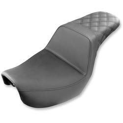 Step Up 2-Up Seat Diamond Gel  Dyna FXD FLX 06-17
