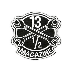 13-1 / 2 Magazine OG Logo Abzeichen