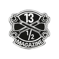 13-1 / 2 Magazine OG-logobadge