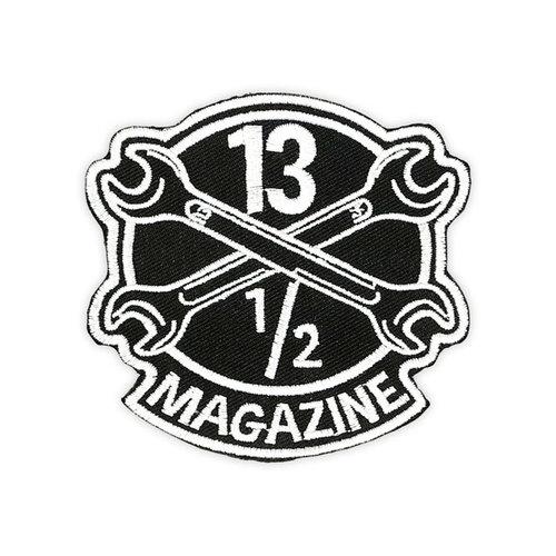 13 ½  13-1 / 2 Magazine OG-logobadge