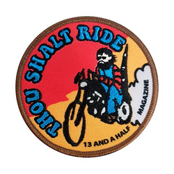 13-1/2 Mag Thou Shalt ride Patch