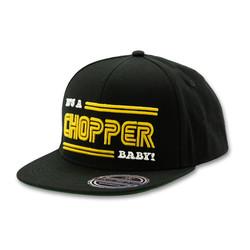 De 13 1/2 IACB Flatpanel cap zwart