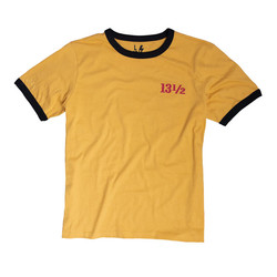 13 1/2 TSR Ringer T-Shirt Geel