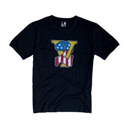 V-twin T-Shirt Zwart