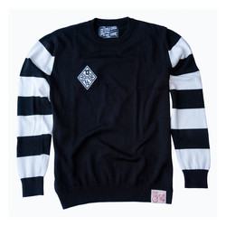 Outlaw Freebird Sweatshirt Wit / Zwart