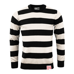 Outlaw Classic Sweatshirt gebräunt weiß / schwarz