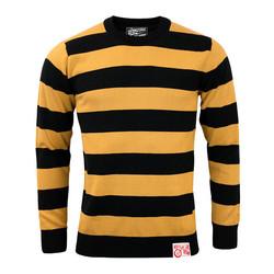 Outlaw Classic Sweatshirt gebräunt gelb / schwarz