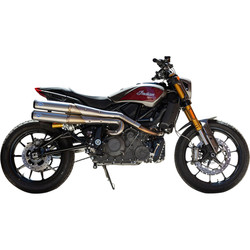 Grand National 2:2 High Exhaust System Indian FTR1200