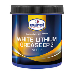 WHITE LITHIUM GREASE EP2 600 GR