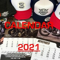 Motorcycles United Calendar 2021