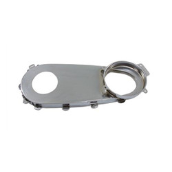 Steel Inner Primary Cover Chromed Big Twin 70-84