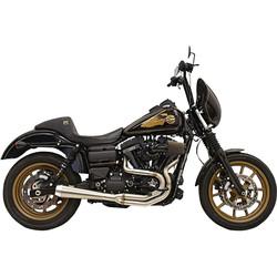 1D2SSL Greg Lutzka Edition 2-in-1-Auspuffanlage 91-17 Harley Dyna