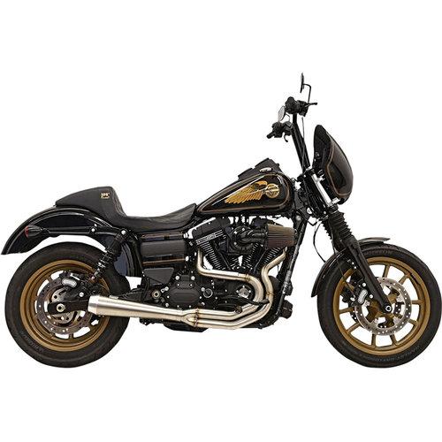 Bassani 1D2SSL Greg Lutzka Edition 2-in-1 uitlaatsysteem 91-17 Harley Dyna