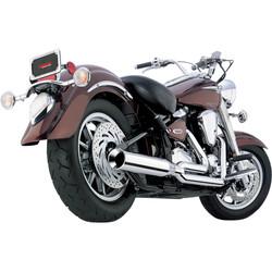 Yamaha XV Power Pro HP 2:1 Exhaust System Chrome