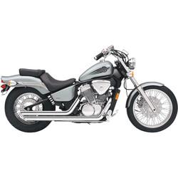 Honda VT600 Streetrod Slashdown Exhaust System Chrome