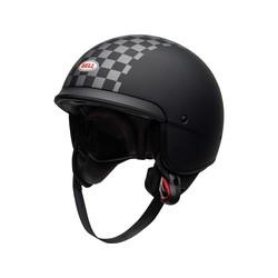 Scout Air Helm Mat Zwart / Wit
