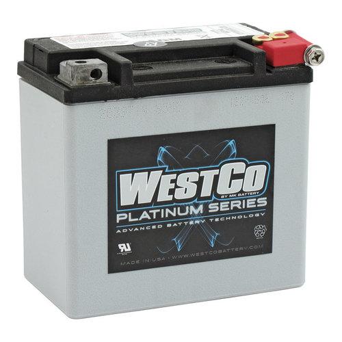 Westco 200CCA AGM Batterie 12V, 12AMP, XL, XR1200, XQ750 / 500 Buell