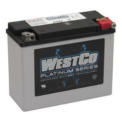 340CCA AGM Batterie 12V, 22AMP, FLT