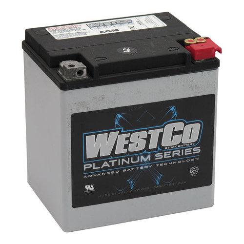 Westco 400CCA AGM Batterie 12V, 30AMP, FLT / Touring