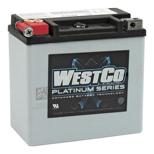 Westco 220CCA AGM Accu 12v, 14AMP, V-Rod, Buell