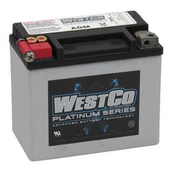180CCA AGM Batterie 12V, 12AMP, Universal
