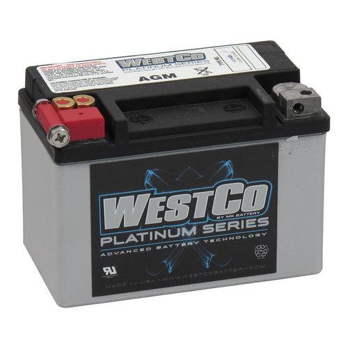 Westco 120CCA AGM Accu 12v, 8AMP, universeel