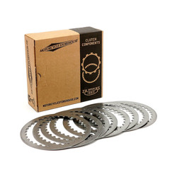 Steel Drive Koppelingsplaten Set  91-20 Sportster XL / XR1200