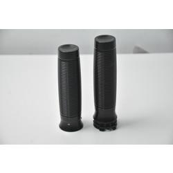 Handles + footrests + gear pin aluminum (select colour)