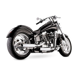 2-2 Staggered uitlaatsysteem Chroom 97-02 Softail