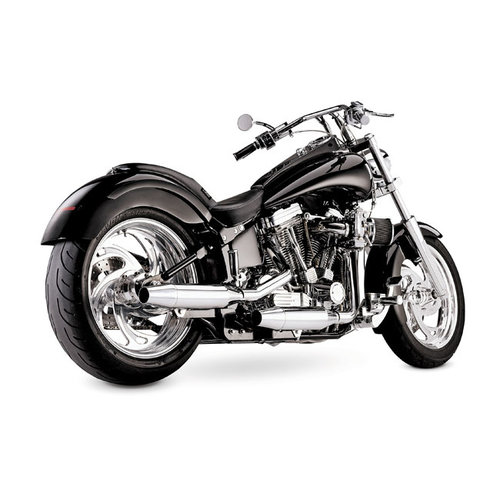 Supertrapp 2-2 Staggered uitlaatsysteem Chroom 97-02 Softail