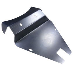 Solo Seat Battery Cover Plate voor Kawasaki Vulcan VN800
