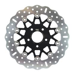 Zwarte contour zwevende rotor RSD014CBLK