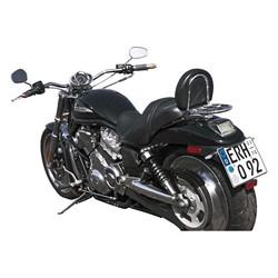 "1 ""Roadstar Wide Lenker Chrom 3"" Aufstieg MCL133CKK"