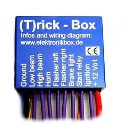 Elektronicbox-versie  T (Trick box)